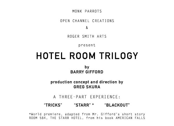 Hotel Room Trilogy